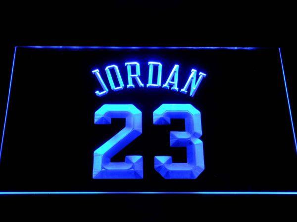 Chicago Bulls Jordan 23 LED Neon Sign