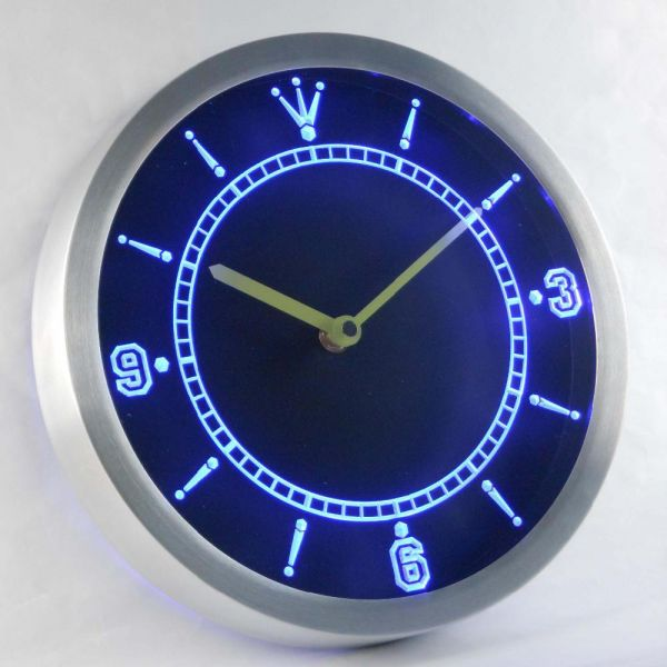 Custom LED Neon Wall Clock - Design Your Own