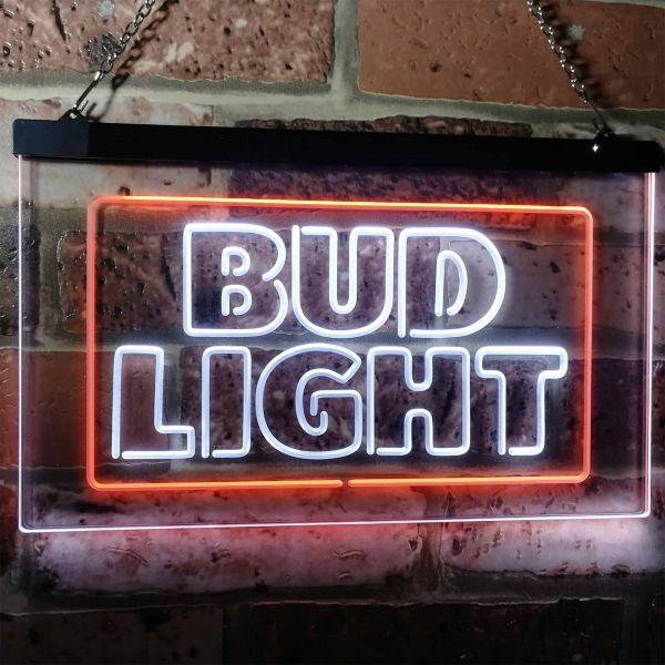 Bud Light Logo 2 Neon-Like LED Sign