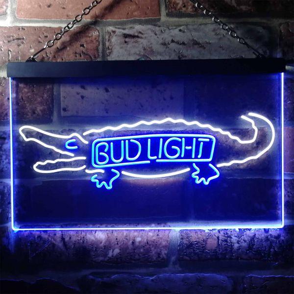 Bud Light Crocodile Neon-Like LED Sign