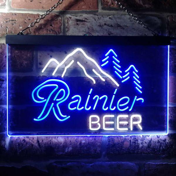 Rainier Beer Mountain Neon-Like LED Sign | FanSignsTime