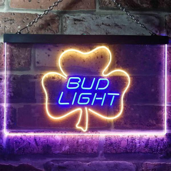 Bud Light Leaf 1 Neon-Like LED Sign