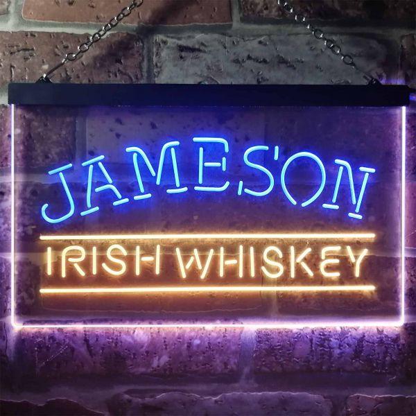 Jameson Irish Whiskey Logo 1 Neon-Like LED Sign