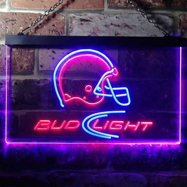 Bud Light Helmet Neon-Like LED Sign