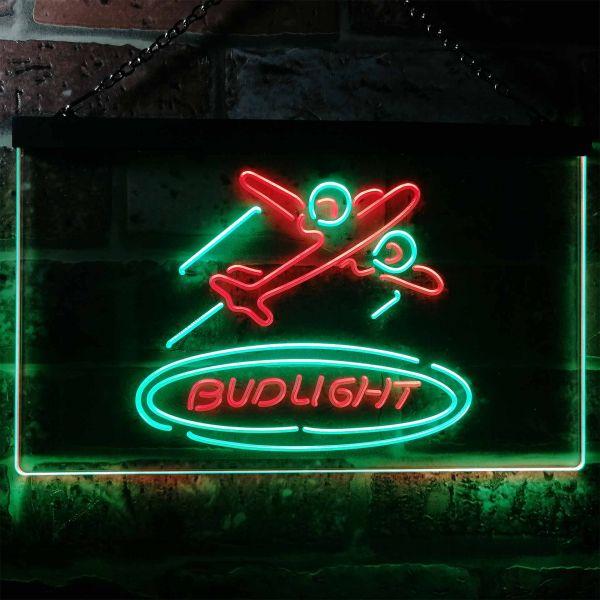 Bud Light Plane Neon-Like LED Sign
