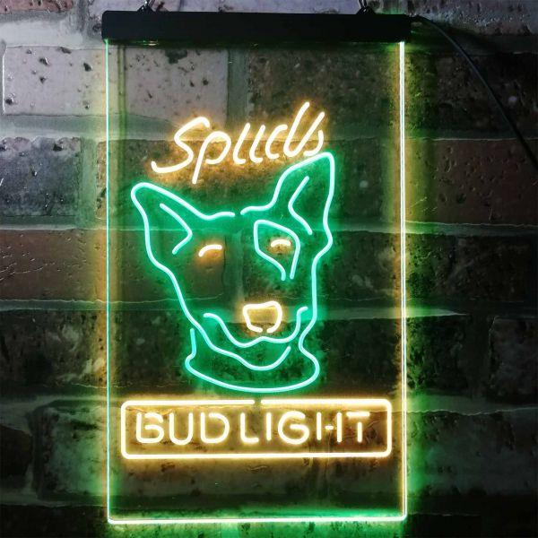 Bud Light Spuds Dog Neon-Like LED Sign