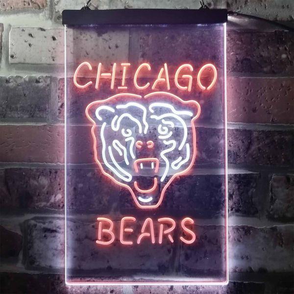 Chicago Bears Logo 1 Neon-Like LED Sign