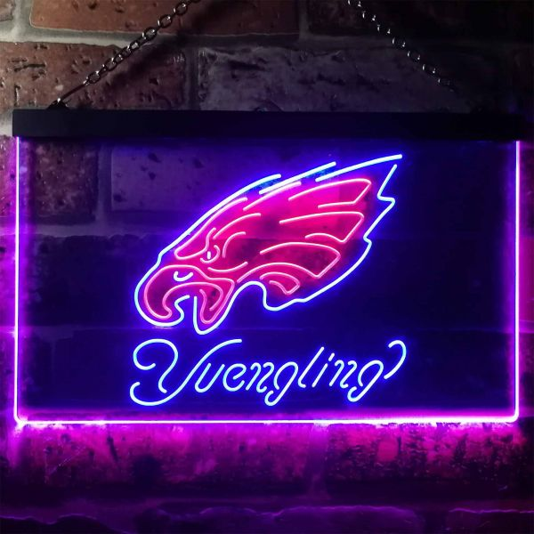 Philadelphia Eagles Yuengling Neon-Like LED Sign