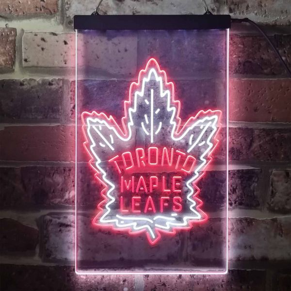 Toronto Maple Leafs Logo 2 Neon-Like LED Sign
