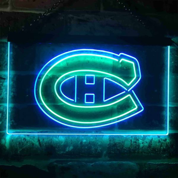 Montreal Canadiens Logo 1 Neon-Like LED Sign