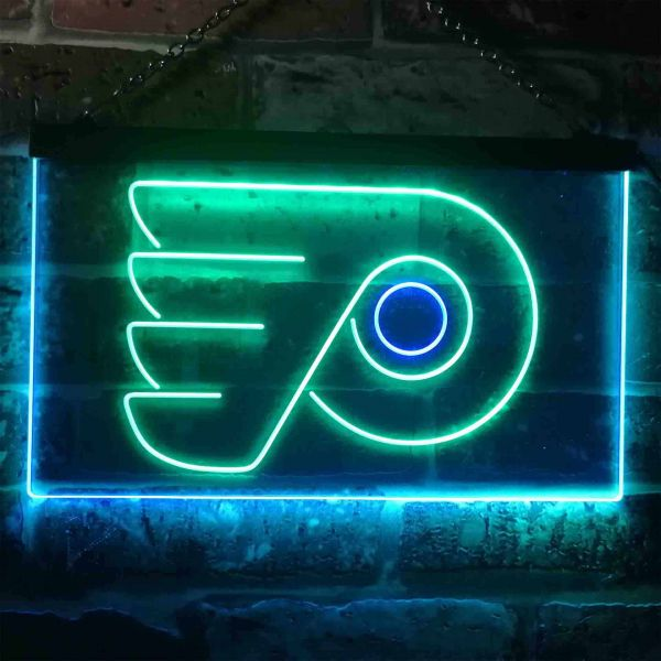 Philadelphia Flyers Logo 1 Neon-Like LED Sign