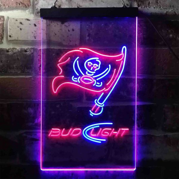 Tampa Bay Buccaneers Bud Light Neon-Like LED Sign