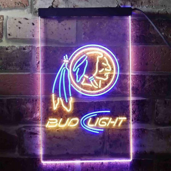 NHRA RACING BUDWEISER Business Real Glass Beer Bar Pub Store Neon Light Sign