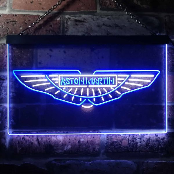 Aston Martin Neon-Like LED Sign