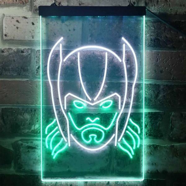 Thor Face Neon-Like LED Sign