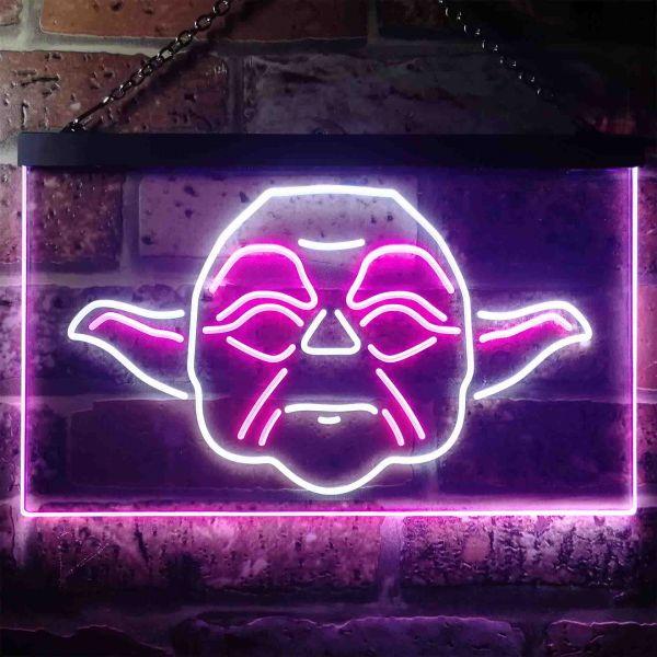Star Wars Yoda Face Neon-Like LED Sign