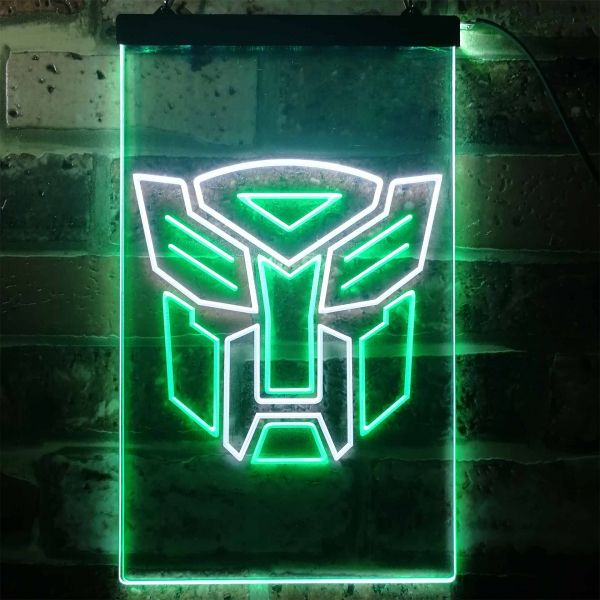 Transformers Autobots Icon Neon-Like LED Sign