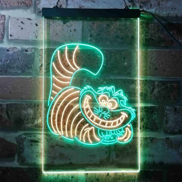 Alice in Wonderland Cheshire Cat Neon-Like LED Sign
