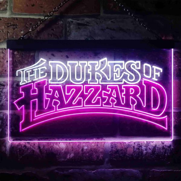 The Dukes of Hazzard Neon-Like LED Sign